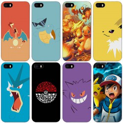 Coque Pokemon iPhone Apple 4 4s 5 5s SE 5c 6 6 s 7 Plus