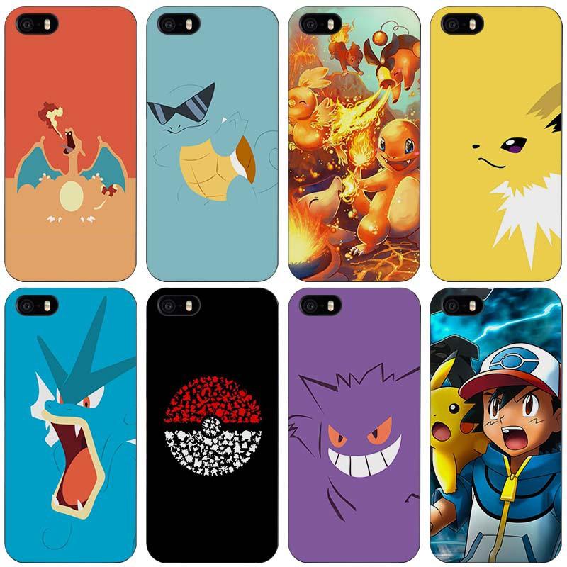 coque pokemon iphone apple 4 4s 5 5s se 5c 6 6 s 7 plus