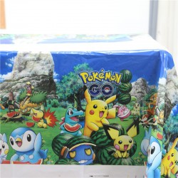 Nappe Pokemon Decoration Anniversaire