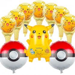 Ballons Pikachu x10