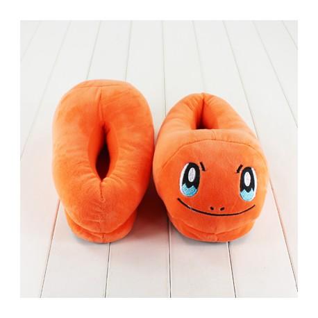 Pantoufles Fourrées Pokemon type charentaises