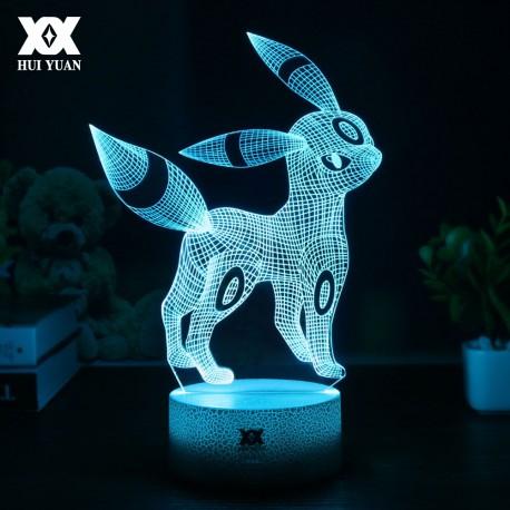 Lampe 3D Pokemon Noctali