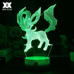 Lampe 3D Illusion Phyllali