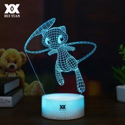 Lampe 3D Mew