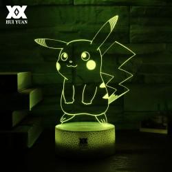 Lampe LED Pikachu