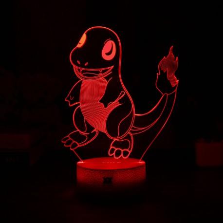 Lampe LED Salamèche