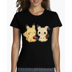 T-Shirt Femme Mimiqui et Pikachu