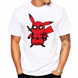 Tee-Shirt Pikachu Super-Héros Homme