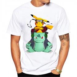 Tee-Shirt Pikachu Homme Manga Serie