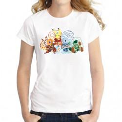 Tee-Shirt Pokemon FEMME Avatar le dernier maitre de l'air