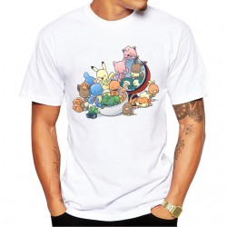 Tee-Shirt Bébé Pokemons Hommes collection été 2019