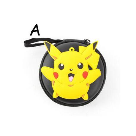 Housse Pokeball Etui Rond Pokemon pour écouteurs ou autre