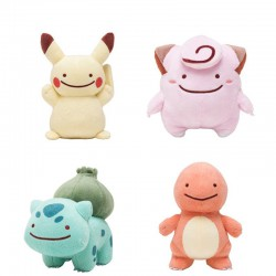 Peluche Originales Pokemon Style Smiley 10cm