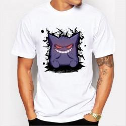 Tee Shirt Pokemon Ectoplasma Hommes 2018