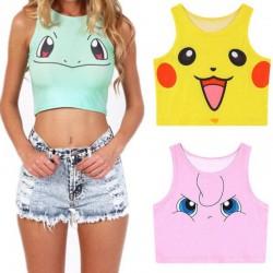 Débardeur Pokemon pour Femme