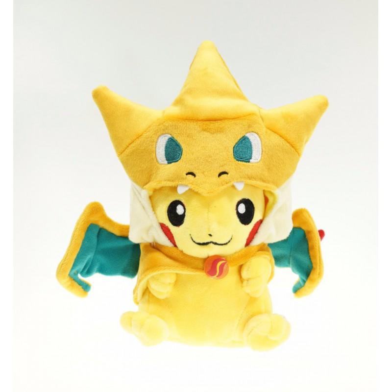 Peluche pikachu cosplay dracaufeu pikachu d guis pokemon - Image dracaufeu ...