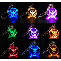 Porte Clé Pokemon GO Led Cristal