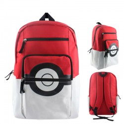 Sac à Dos Pokemon Pokeball Rouge