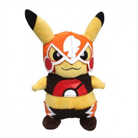 Peluche Pikachu Catcheur 22 cm