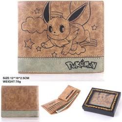 Portefeuille Pokemon Cuir PU