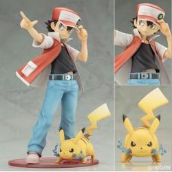 Figurine Pokémon 15cm Sacha et Pikachu
