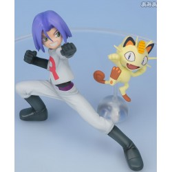 Figurine Team Rocket Miaouss & James 10cm