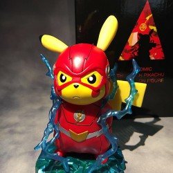 Figurine Pikachu Super Hero Flash