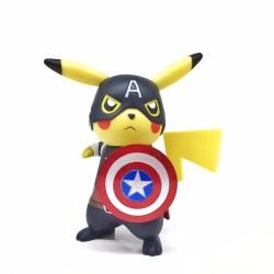 Figurine Captain Pikachu 15cm