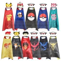 Déguisement Pokemon : Cape et Masque