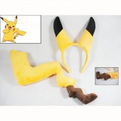 Déguisement Pikachu : Queue et Oreilles