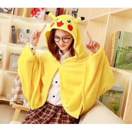 Boutique Pokémon : Plaid Pikachu confortable, chaud, douillet et jaune