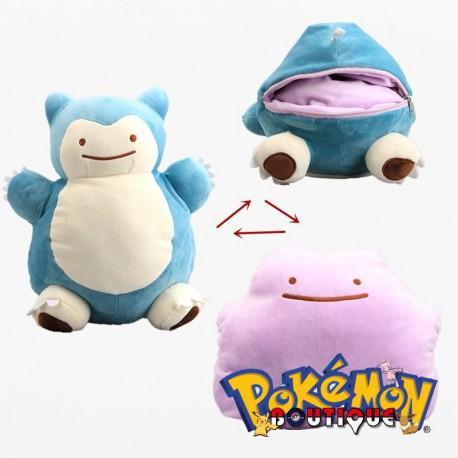 Peluche Pokemon Ronflex Metamorph transformable (1)