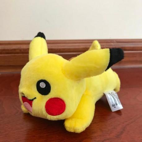 Peluche Pokemon : Pikachu en action ! 18cm