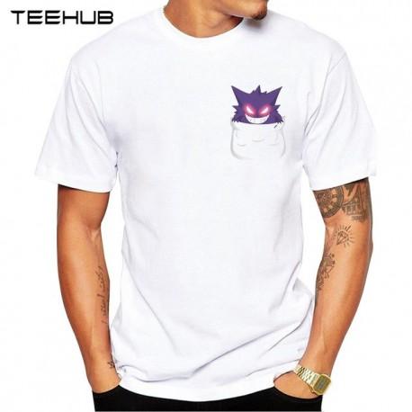 T Shirt Pokemon: Ectoplasma dans la Poche - Homme