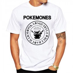 T-Shirt Punk Ramones Pokemones