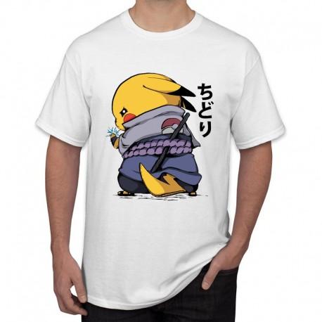 Tee-Shirt Pikachu Samurai Homme 2019