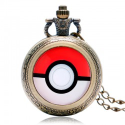 Montre Cosplay Pokemon Pokeball