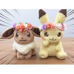 Peluches Pikachu & Evoli Edition de Pâques