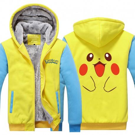 Veste Fourrée Pikachu