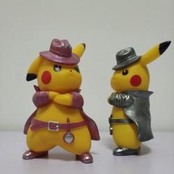 Figurine Détective Pikachu 17cm