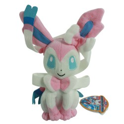 Peluche Pokemon Evolution Nymphali Tomy 25cm