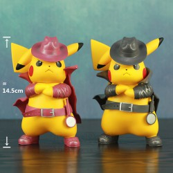 Figurine Detective Pikachu 14.5cm