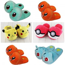 Chaussons peluche Pokemon adulte