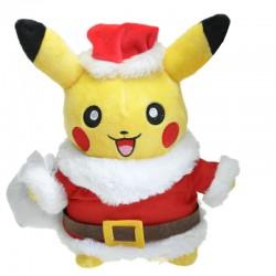 Peluche Pikachu Père Noël