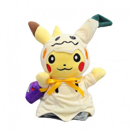 Peluche Pikachu Déguisé en Mimiqui 30cm