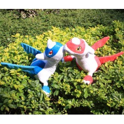 Peluches Pokemon Legendaires Latios et Latias 30cm