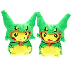 Pokemon Peluches Pikachu Cosplay Rayquaza - Pokemon center paris