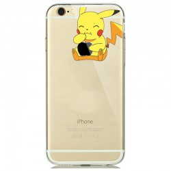 Coque Iphone Pokemon souple Pikachu