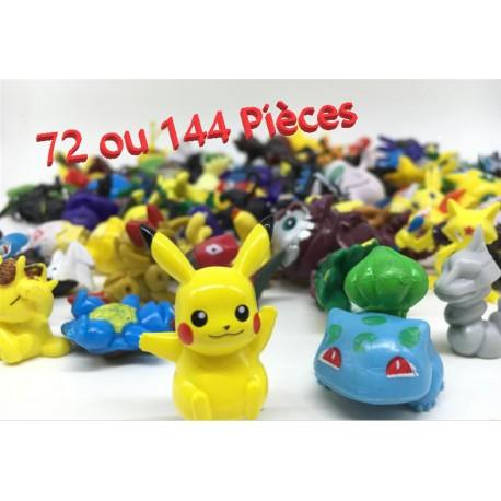 lot mini figurine pokemon pas cher figurine pikachu figurine evoli. Black Bedroom Furniture Sets. Home Design Ideas