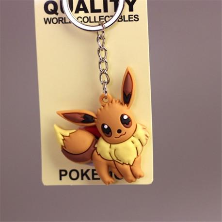 Porte Clef Evoli 3D Pokemon | Porte-clé Evoli | Porte-clé Ronflex | Porte cle Draco | Porte-clef Goupix | Porte clé Dracolosse